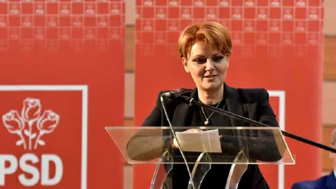 """Lia Olguța Vasilescu o ia la bani mărunți pe Violeta Alexandru, șefa de la Muncă: """"Erau vreo doi prin copaci și trăgeau de fire"""""""