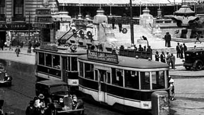 9 decembrie, semnificaţii istorice! Începe să circule în Bucureşti primul tramvai electric