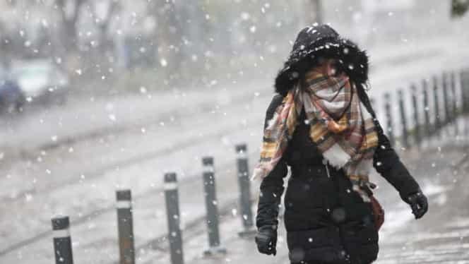 Prognoza meteo duminică, 18 noiembrie. Ninsori în toată ţara şi temperaturi de -15 grade