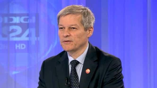 """Dacian Cioloș, mesaj ferm pentru liberali! """"Dacă adversarul politic este PSD, nu ar trebui ezitat nicio clipă"""""""