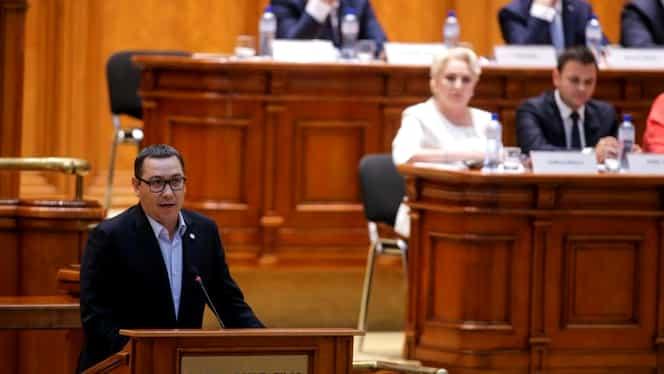 """Scandal la TV între Victor Ponta și Viorica Dăncilă: """"Nu ar strica să fiți mai inteligentă / Luați un extraveral, vă rog!"""""""