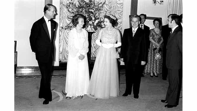 Nicolae și Elena Ceaușescu, poză de colecție la Palatul Buckingham! Regina Elisabeta, declarații dure la ani distanță de momentul fotografiei