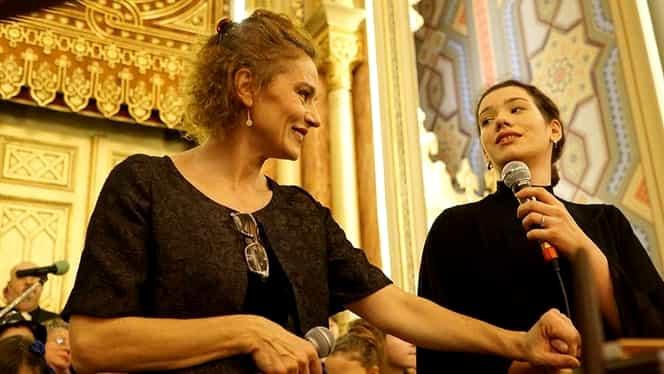 Cum arată fiica cea mare a actriței Maia Morgenstern. Cabiria calcă pe urmele mamei sale. Galerie FOTO