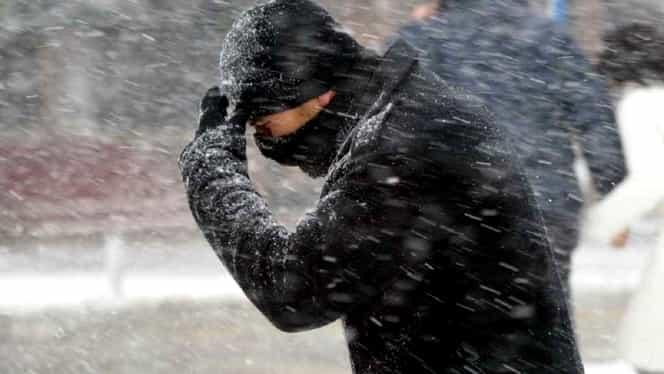 ANM: Un val de aer polar siberian lovește România în următoarele ore