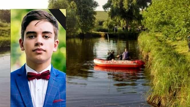 De ce nu l-au salvat colegii de la înec pe Gabriel, tânărul de 15 ani care a murit într-un lac din Vaslui