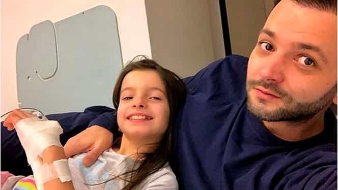 Mihai Morar cu fetița la spital, în ajun de Revelion! În ce stare este Mara