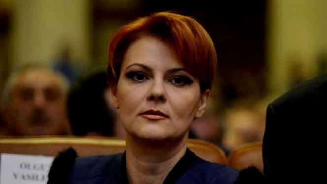 """Lia Olguța Vasilescu: """"Văd că tot caută unii câte ceva de criticat prin legea pensiilor și nu prea găsesc"""""""