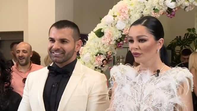 Cine a prins buchetul la nunta lui Florin Pastramă cu Brigitte. Cum s-a încălcat tradiția