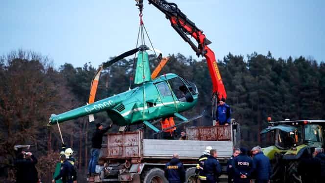 Elicopter prăbușit în Austria! Trei persoane transportate de urgență la spital