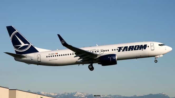 Avion TAROM, întors din drum pe Aeroportul Otopeni! Ce s-a întâmplat la bordul navei