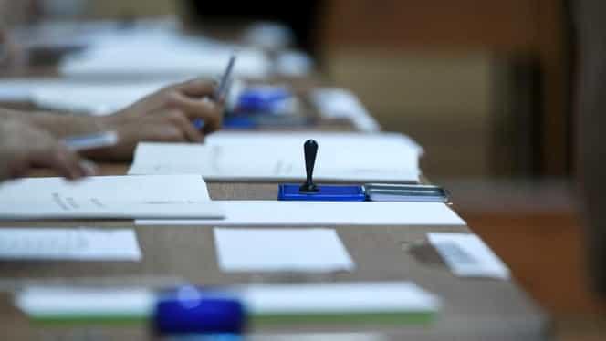 Incident într-o secție din Botoșani. Votul a fost sistat pentru 10 minute
