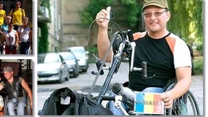 Vasile Stoica, bănățeanul care a străbătut planeta în scaun cu rotile, a încetat din viață! Ce record mondial deținea