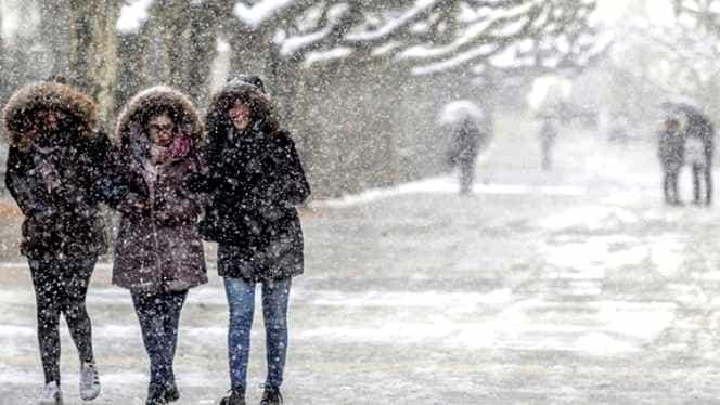 Avertizare ANM! Vreme severă imediată: ninsori și viscol