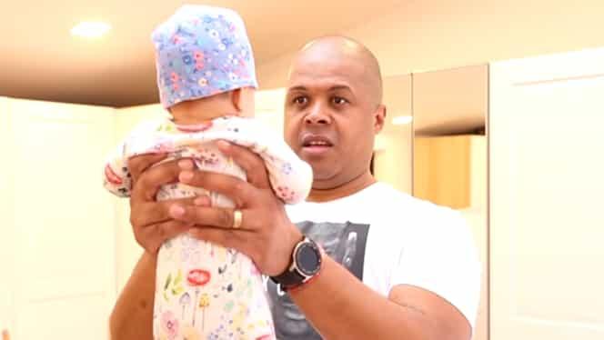 Cabral a făcut o noapte albă alături de fiica sa! Ce a pățit micuța Namiko