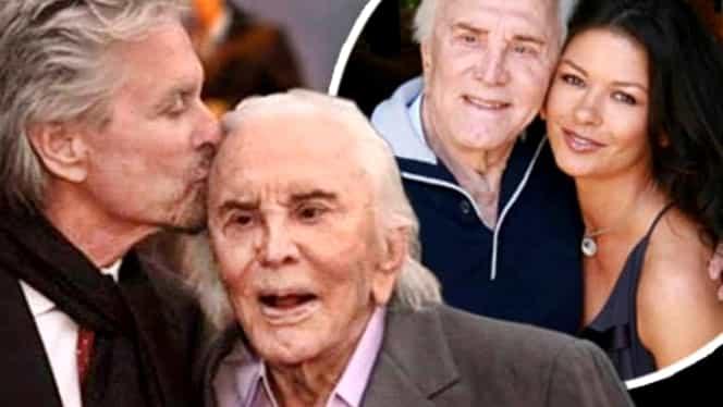 Kirk Douglas, celebru actor american, a murit la vârsta 103 ani. Tatăl lui Michael Douglas a jucat în peste 90 de filme