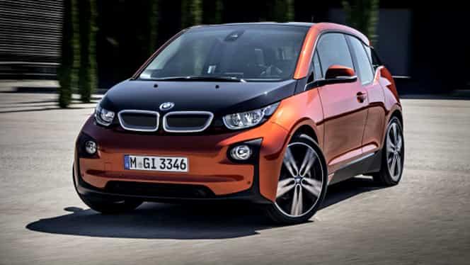 GALERIE FOTO. BMW i3, cea mai vândută maşină electrică din România