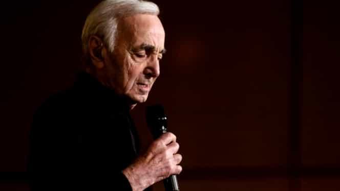 """Charles Aznavour avea amintiri frumoase din România! """"Ar trebui să facem şi noi asta în Franţa"""""""