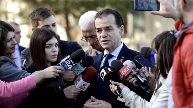 """Guvernul Orban își asumă răspunderea pentru legea bugetului de stat! """"Garantăm pentru trei proiecte importante"""""""