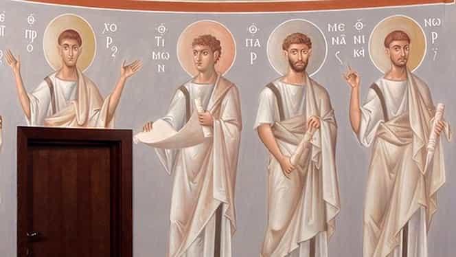 Calendar ortodox, duminică, 28 iulie. Sfinții Prohor, Nicanor, Timon și Parmena