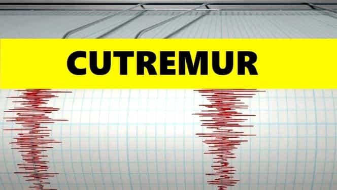 Cutremur în România, vineri dimineață! Ce magnitudine a avut seismul