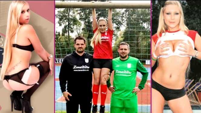 GALERIE FOTO. O vedetă de filme pentru adulţi a devenit patron de echipă de fotbal în Germania! A salvat-o de la faliment!