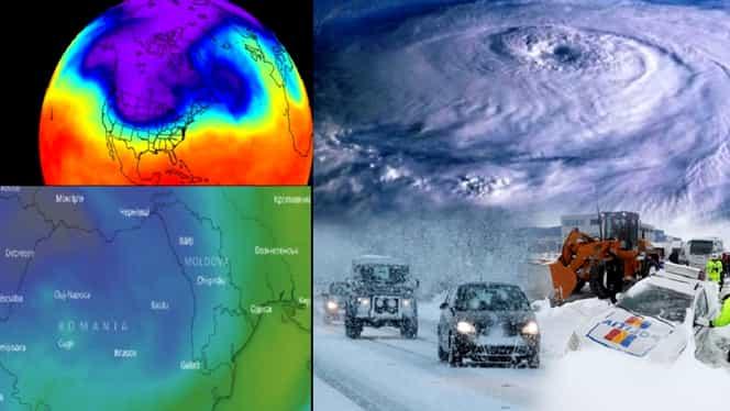 Avertismentul unui meteorolog! Va fi o iarnă polară, cu zăpezi. Ninsorile se vor instala de săptămâna viitoare