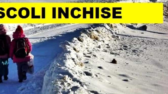 Școli închise în Iași din cauza gripei! Unitățile în cauză nu țin cursuri