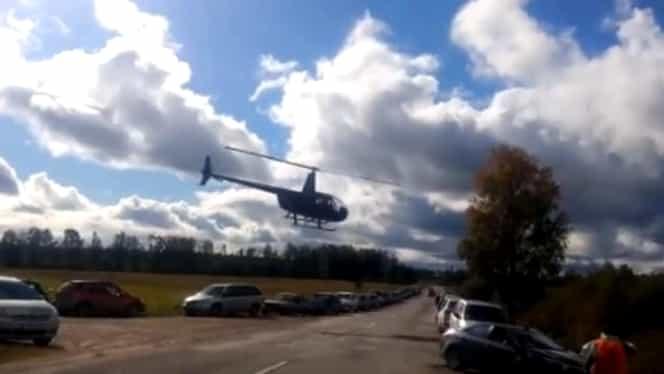 Un mort şi trei răniţi, în Letonia, după ce un elicopter s-a prăbuşit