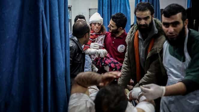 Rusia a bombardat o regiune din Siria. 10 civili au murit printre care se numără și 5 femei