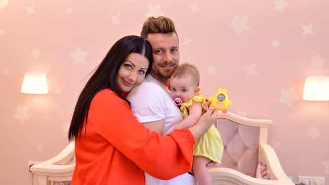 """Gabriela Cristea, despre Tavi Clonda și fetița lor: """"Mă îndrăgostesc în fiecare zi!"""""""