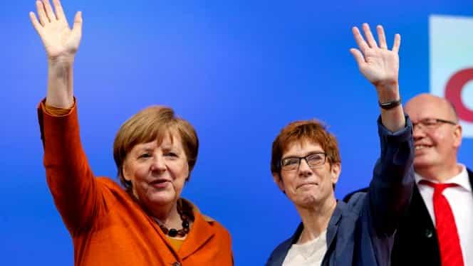 Cine e Annegret Kramp-Karrenbauer, înlocuitoarea Angelei Merkel la şefia CDU