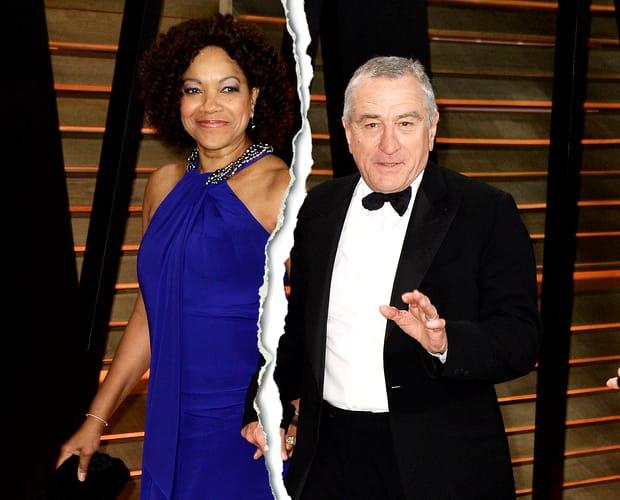 """Robert de Niro, făcut de râs de soția cu care este în divorț: """"Nu se spală pe păr cu lunile. Miroase urât!"""""""