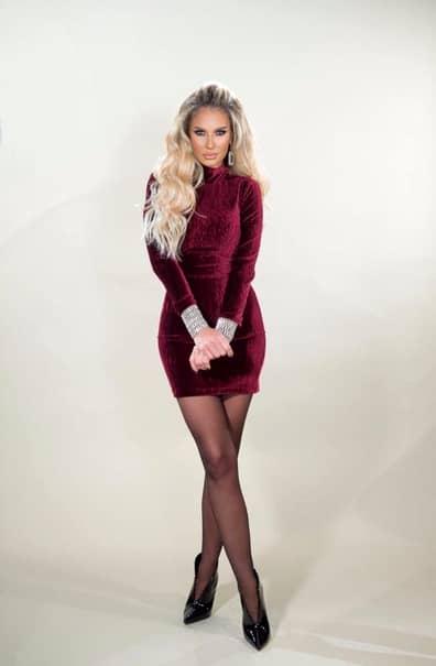 Andreea Bănică, fostă solistă la Blondi