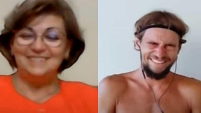 Mihai Onicaș a izbucnit în plâns după eliminarea de la Survivor. Ce a spus când și-a văzut mama prin videocall – Video