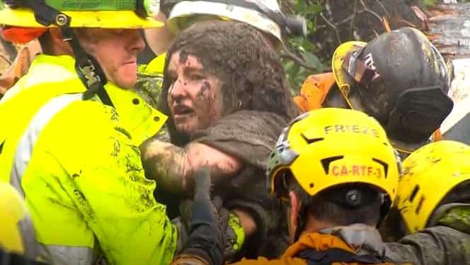 Alunecare de teren într-un cartier de milonari! Cel puţin 13 oameni au murit!