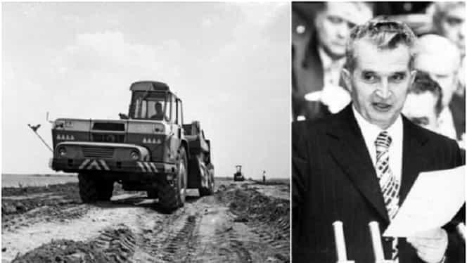 Planul secret al lui Nicolae Ceaușescu despre autostrăzile României. Cum arăta proiectul din 1968! VIDEO