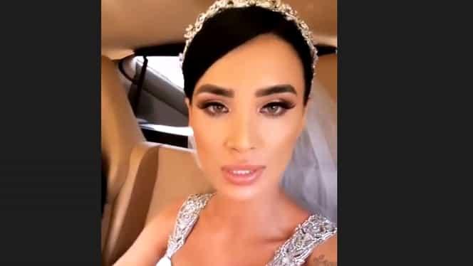 Adelina Pestriţu şi-a arătat verighetele pentru nunta de azi. Cum arată bijuteriile pentru marele eveniment. FOTO