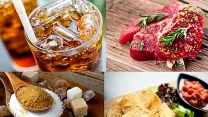 Elimină de urgență aceste 10 alimente din meniul tău! Previi astfel apariția cancerului!