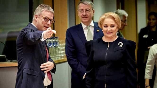 Cadoul inedit pe care l-a oferit Viorica Dăncilă oficialilor europeni! Reacția acestora e pe măsură