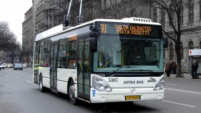 Program RATB de miercuri! De la ce oră circulă troleibuzele, autobuzele și tramvaiele în ziua de grevă la metrou! Anunțul oficial