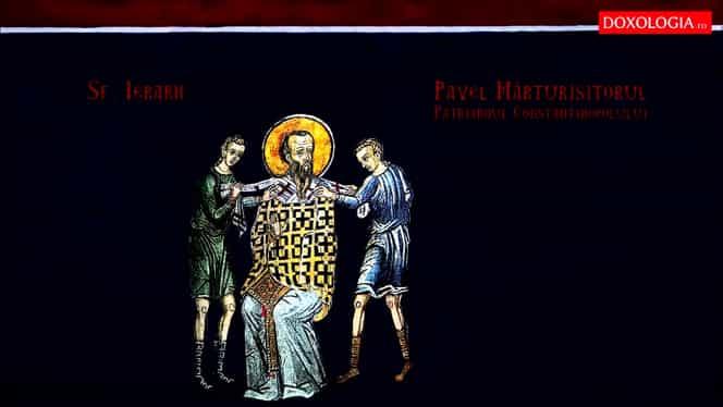 Calendar ortodox, 6 noiembrie. Este pomenit Sfântul Pavel Mărturisitorul, patriarhul Constantinopolului. Zi de post