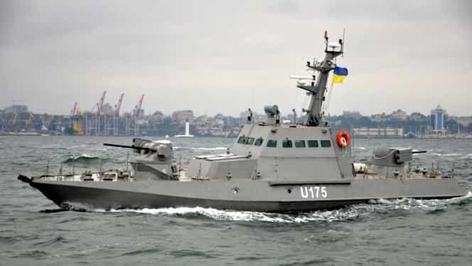 Ce s-a găsit pe cele trei nave ucrainene capturate de Rusia! Kievul confirmă. VIDEO