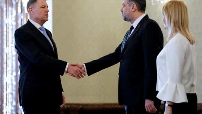 """Președintele Iohannis l-a nominalizat pe Florin Cîțu pentru postul de premier, după consultările de astăzi cu partidele. PSD: """"Nu votăm niciun fel de guvern minoritar"""""""
