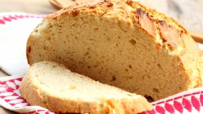 Rețeta zilei: pâine de casă delicioasă, exact cum o făcea bunica pe vremuri