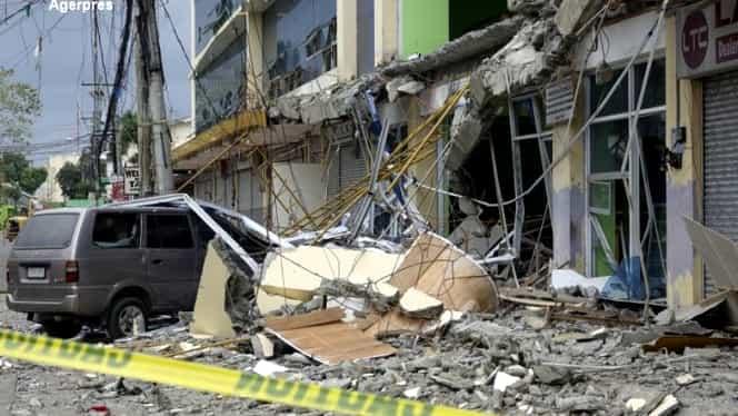 Cutremurul din Filipine a făcut victime! Bilanţul morţilor a crescut