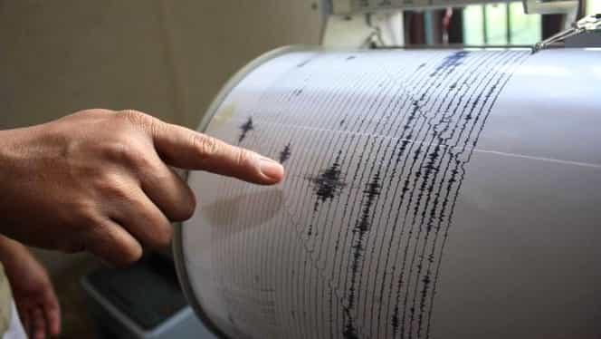 Cutremur în Muntenia. Seismul a avut 3,1 pe Richter