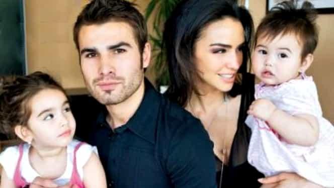 Cum arată fetele lui Adrian Mutu cu Consuelo Matos! Cât sunt de frumoase. FOTO