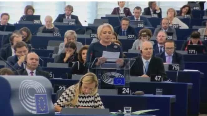 Viorica Dăncilă, amenințată cu activarea Articolului 7, la Strasbourg