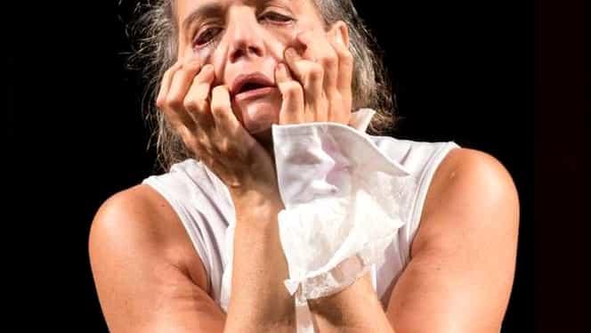 Maia Morgenstern şi-a rupt mâna pe scenă