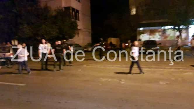 FOTO / Accident rutier la Constanţa, urmat de o bătaie ca-n filme. O persoană lovite pe trecerea de pietoni